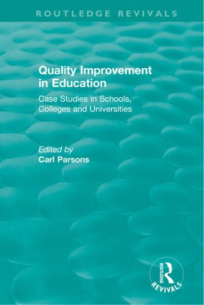 Quality Improvement in Education