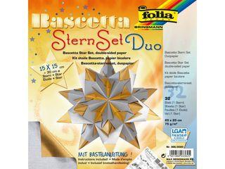 Kalėdinė žvaigždė. Popierius + schema