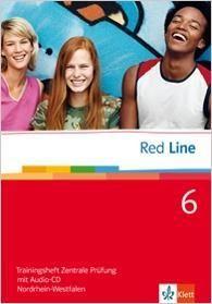 Red Line 6. Trainingsheft Zentrale Prüfung mit Audio-CD. Nordrhein-Westfalen