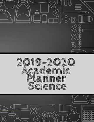 2019-2020 Academic Planner Science