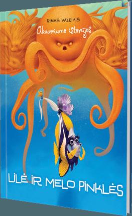Akvariumo istorijos. Lilė ir melo pinklės + sąsiuvinis dovanų (langeliais, 36 l.)