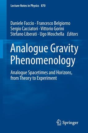 Analogue Gravity Phenomenology