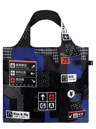 """LOQI pirkinių krepšys """"AIRPORT Icons Bag"""""""