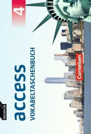 English G Access Band 4: 8. Schuljahr - Allgemeine Ausgabe - Vokabeltaschenbuch