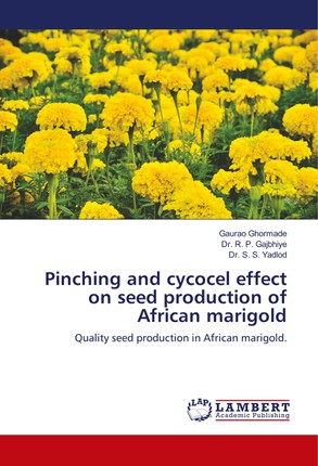 Pinching and cycocel effect on seed production of African marigold