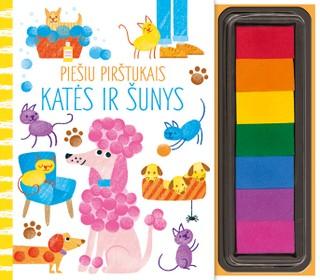 Piešiu pirštukais: šunys ir katės