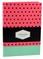 DOT GRID užrašinė Ornamental (taškuota rožinė): išskirtinio dizaino aukštos kokybės taškuota užrašinė su lanksčiu viršeliu, puslapiais taškeliais ir juostele-skirtuku