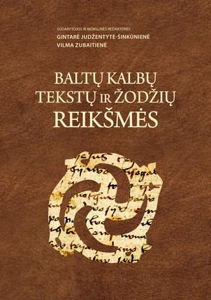 Baltų kalbų tekstų ir žodžių reikšmės