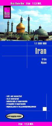 Reise Know-How Landkarte Iran 1 : 1.500.000