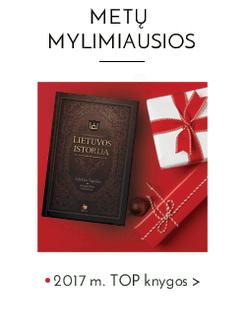 METŲ MYLIMIAUSIOS: 2017 m. TOP knygos