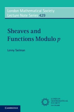 Sheaves and Functions Modulo p