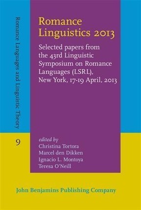 Romance Linguistics 2013