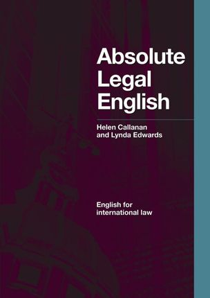 Absolute Legal English B2-C1. Coursebook with Audio CD