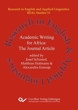 Academic Writing for Africa: The Journal Article (Band 15)