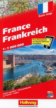 Frankreich 1 : 1 000 000
