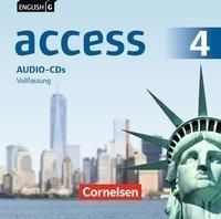 English G Access Band 4: 8. Schuljahr - Allgemeine Ausgabe - Audio-CDs