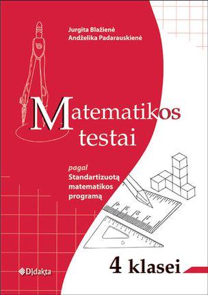 Matematikos testai 4 klasei pagal Standartizuotą matematikos programą