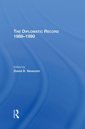 The Diplomatic Record 1989-1990