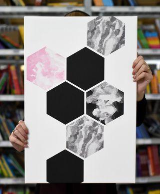 """Laimingų namų taisyklės """"Korys"""", 60 x 40 cm"""