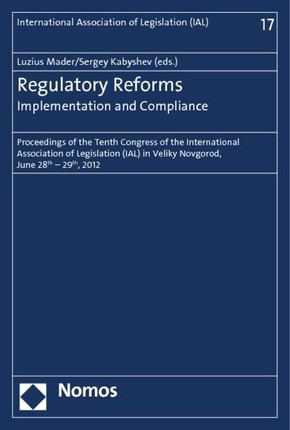 Regulatory Reforms - Implementation and Compliance