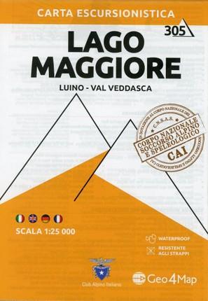 Lago Maggiore 1:25 000