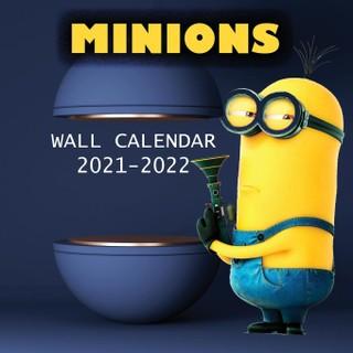 2021-2022 MINIONS Wall Calendar