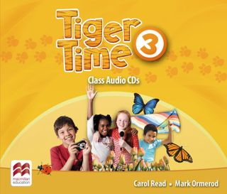 Tiger Time 3. 3 Class Audio-CDs