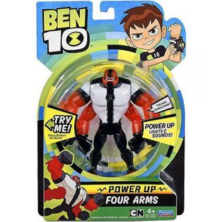 BEN10 figūrėlė Power up  Four Arms, 76603