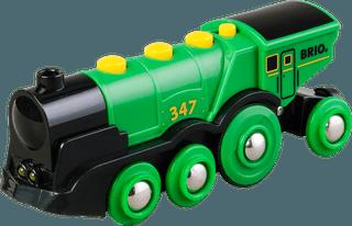 BRIO didelis garvežys, žalias 33593