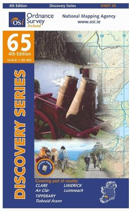 Irish Discovery Series 65. Clare, Limerick, Tipperary 1 : 50 000