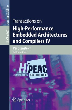 Transactions on High-Performance Embedded Architectures and Compilers IV