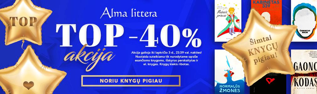 Alma littera TOP akcija