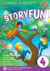 Storyfun for Starters, Movers and Flyers 4. Student's Book with online activities and Home Fun Booklet. 2nd Edition