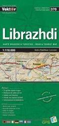 Librazhdi Provinzkarte 1 : 110 000 GPS