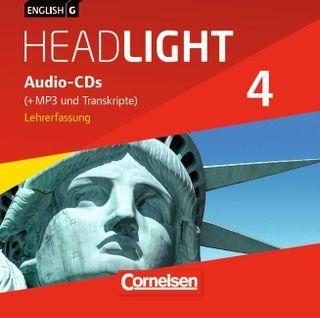 English G Headlight 04: 8. Schuljahr. CDs (Vollfassung)