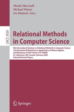 Relational Methods in Computer Science
