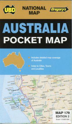 Australia pocket Map