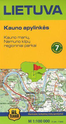 Lietuva. Kauno apylinkės. Turistinis žemėlapis Nr. 7