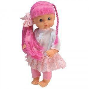 BAMBOLINA lėlė su plaukų aksesuarais Nena, BD1361