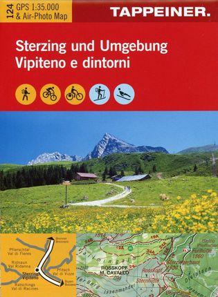 Wanderkarte Sterzing und Umgebung 1 : 35.000
