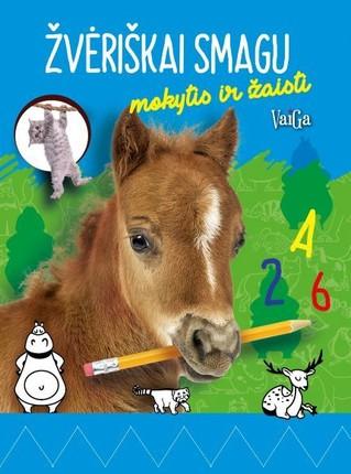 Arkliukas: žvėriškai smagu mokytis ir žaisti