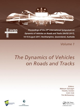 Dynamics of Vehicles on Roads and Tracks Vol 1