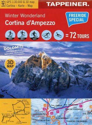 Winter Wonderland Cortina d'Ampezzo 1 : 30.000