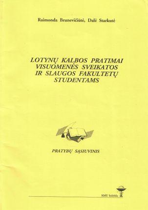 Lotynų kalbos pratimai visuomenės sveikatos ir slaugos fakultetų studentams
