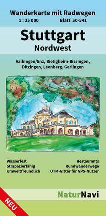 Stuttgart Nordwest 1 : 25 000