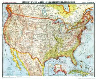 Amerika Karte Staaten.Knyga General Karte Von Vereinigte Staaten Von Nord Amerika