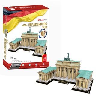 3D dėlionė: Brandenburg Gate