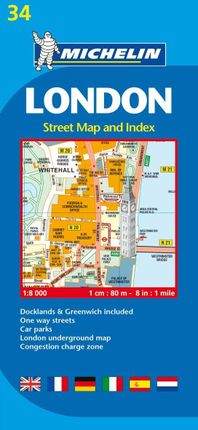 London 1 : 8 000 Stadtplan