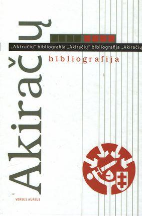 Akiračių bibliografija