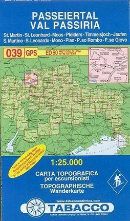 Tabacco Wandern 1 : 25 000 Passeiertal / Val Passiria